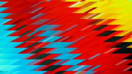 Red Yellow and Blue Geometric Shapes Background