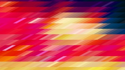 Abstract Red Yellow and Blue Geometric Shapes Background