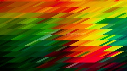 Red Yellow and Green Geometric Shapes Background