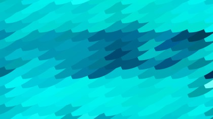 Turquoise Geometric Shapes Background Vector