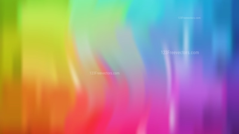 Colorful Blurry Background Vector Art