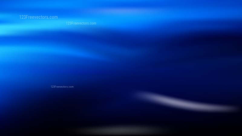 Cool Blue Blur Background