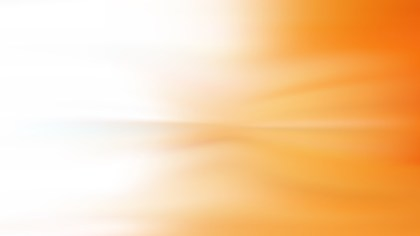 Orange and White Blurry Background
