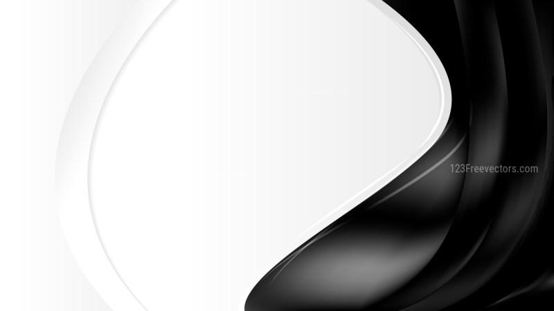 Black Wave Business Background Vector Illustration