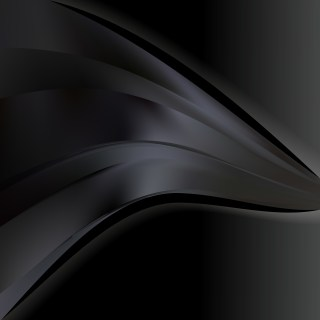 Abstract Black Wave Business Background