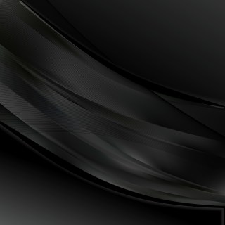 Abstract Black Wave Business Background Vector Image