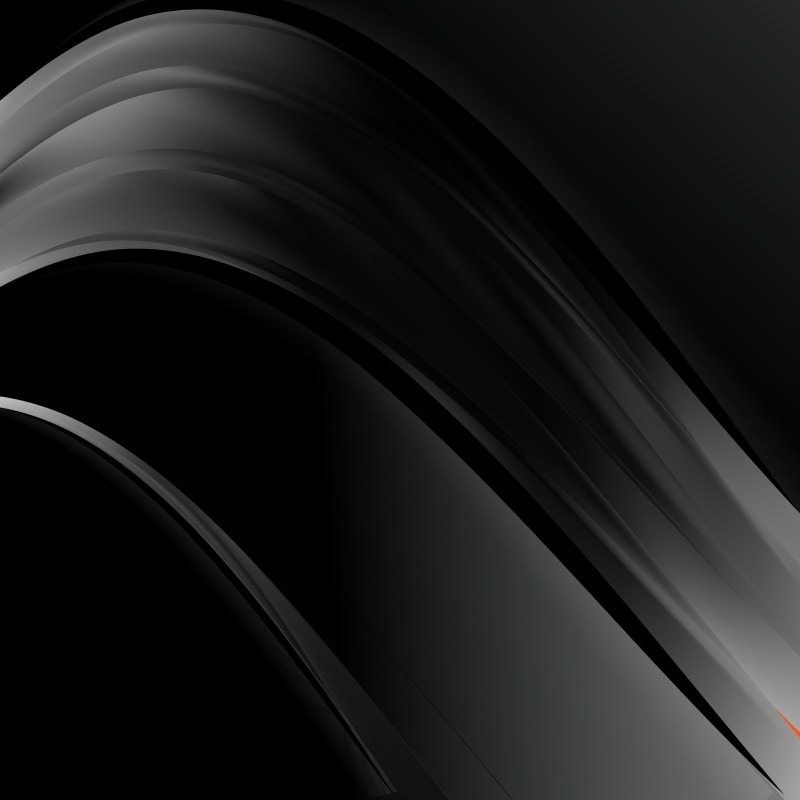 Abstract Black Wave Business Background Illustration