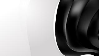 Black Wave Business Background Image