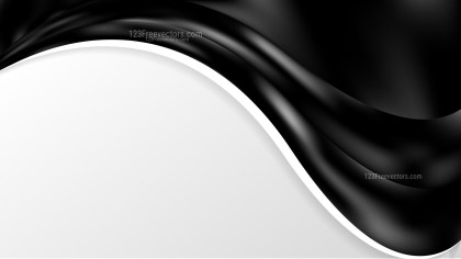 Black Wave Business Background
