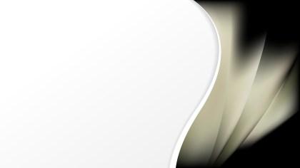 Black and Beige Wave Business Background Image