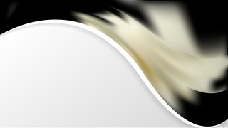 Black and Beige Wave Business Background