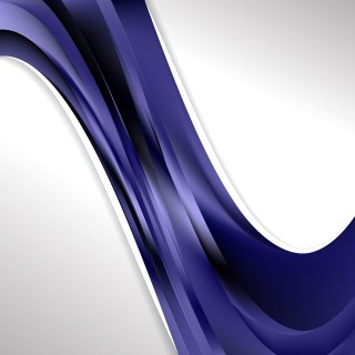 Black and Blue Wave Business Background Image