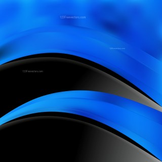 Black and Blue Brochure Design