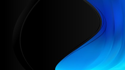 Black and Blue Background Template