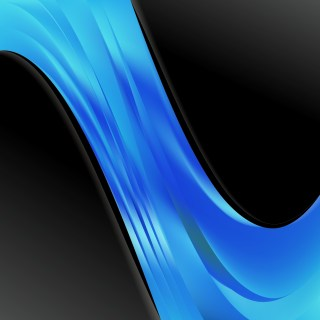 Black and Blue Wave Business Background Vector Illustration
