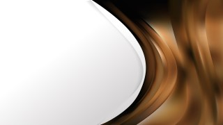 Abstract Black and Brown Wave Business Background Illustration