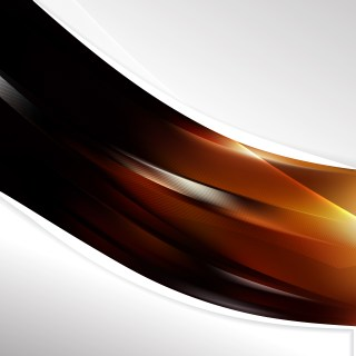 Black and Brown Wave Business Background Image