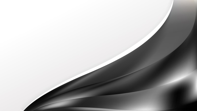 Abstract Black and Grey Wave Business Background
