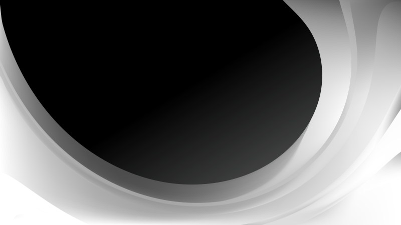 Black and Grey Wave Business Background Vector Art