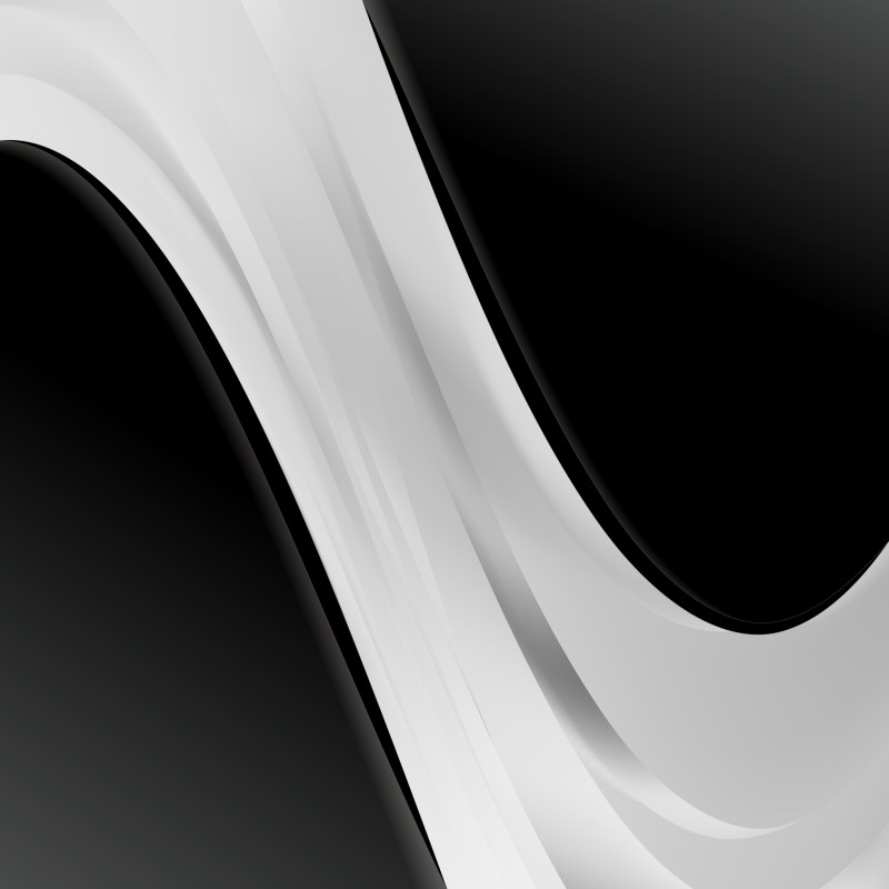 Black and Grey Wave Business Background Image