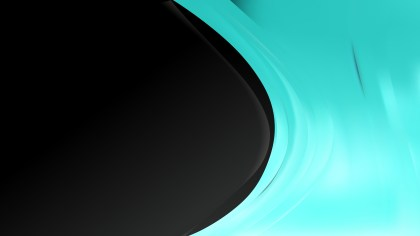 Black and Turquoise Background Template