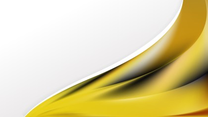Black and Yellow Wave Business Background Vector Art