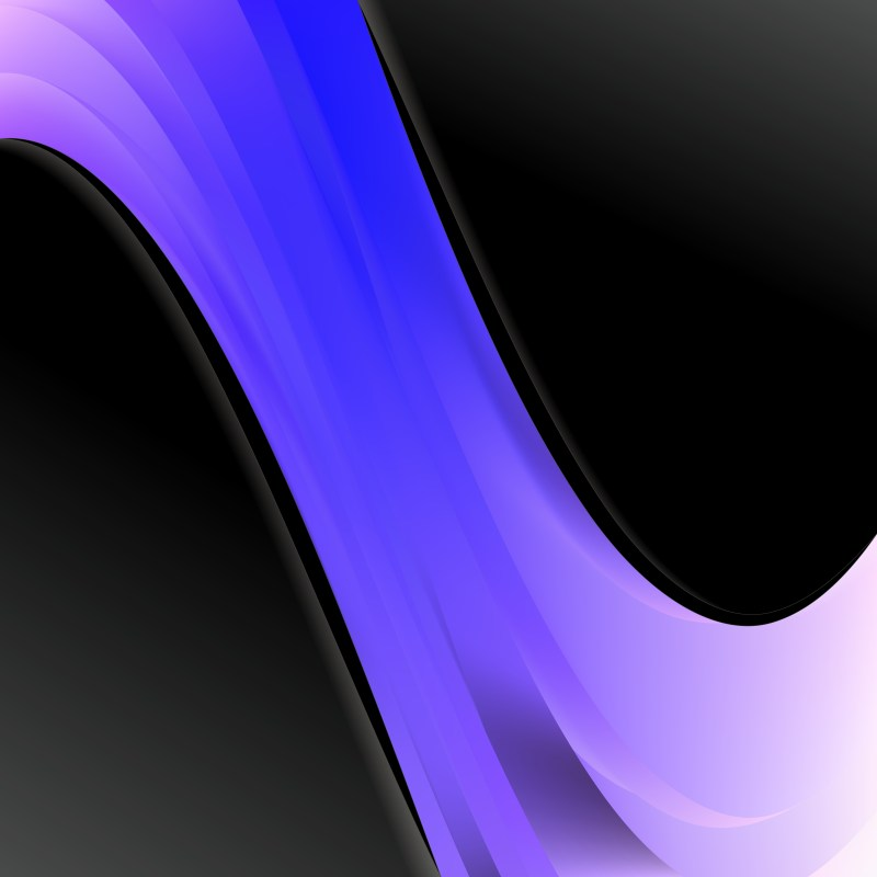 Black Blue and Purple Wave Business Background Vector Art