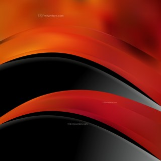 Black Red and Orange Business Brochure Template