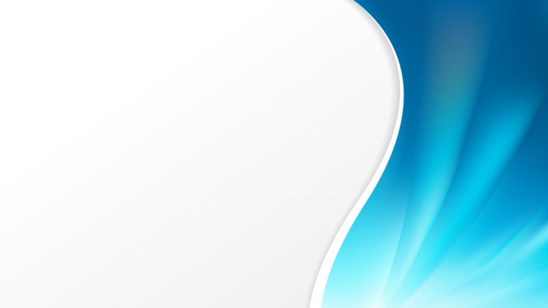Blue Wave Business Background Image