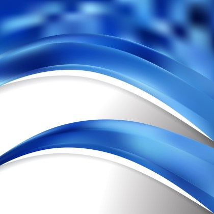 Abstract Blue Wave Business Background Vector Image