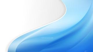 Blue Wave Business Background Vector Art