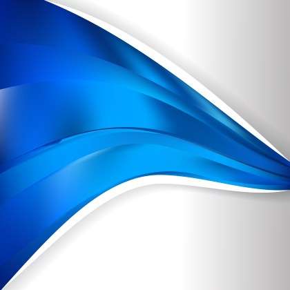 Abstract Blue Wave Business Background