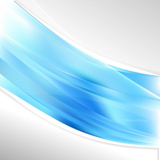Blue Wave Business Background Vector Art