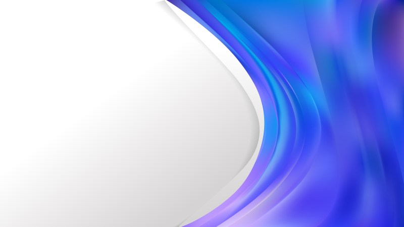 Blue and Purple Business Background Template