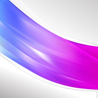 Blue and Purple Wave Business Background