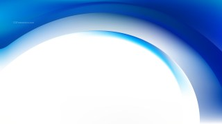 Abstract Blue and White Wave Business Background Vector Image