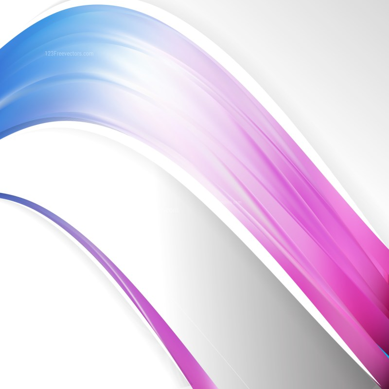 Blue Purple and White Wave Business Background