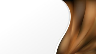 Abstract Brown Wave Business Background