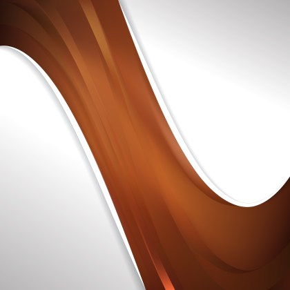 Abstract Brown Wave Business Background Vector Image