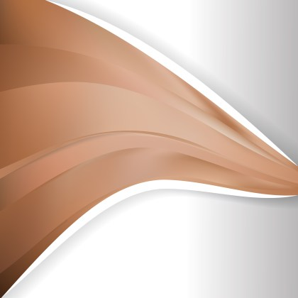 Brown Wave Business Background