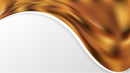 Brown Wave Business Background Image