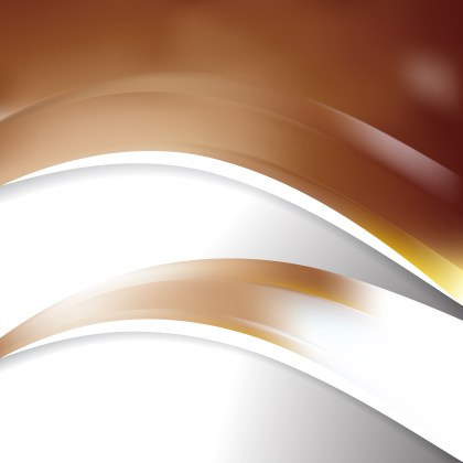 Abstract Brown and White Wave Business Background