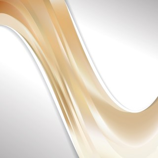 Brown and White Wave Business Background
