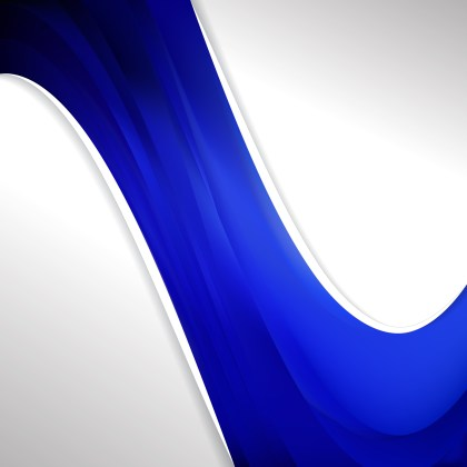 Cobalt Blue Wave Business Background