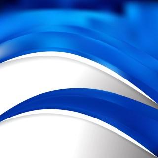 Cobalt Blue Wave Business Background
