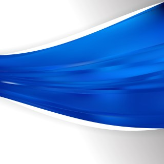 Abstract Cobalt Blue Wave Business Background