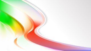 Abstract Colorful Wave Business Background