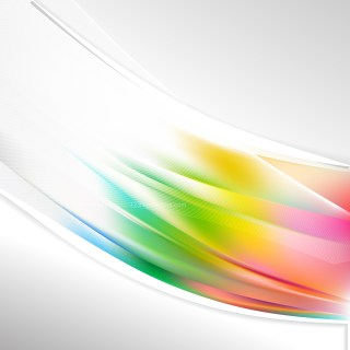Colorful Wave Business Background
