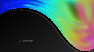 Abstract Cool Wave Business Background