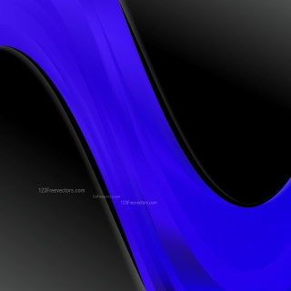 Cool Blue Wave Business Background Vector Art